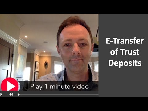 Download Deposits - etransfers now available