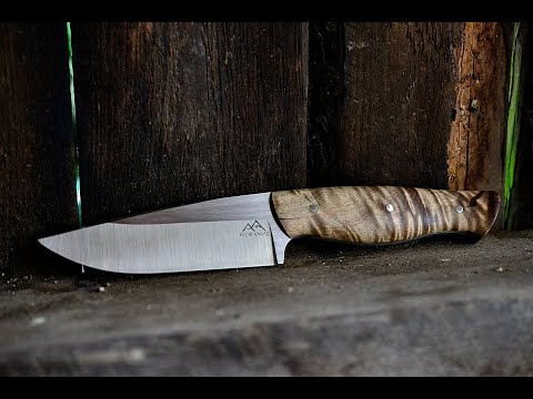 Hunting/Bushcraft Knives From Elmax And N690 Stainless Steel