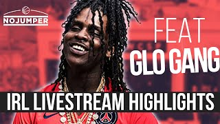 Chief Keef Comes Late AF To His Own Album Release (IRL Stream Highlights) thumbnail