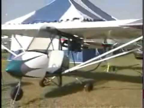 Scepter single place ultralight aircraft by Slipstream - YouTube