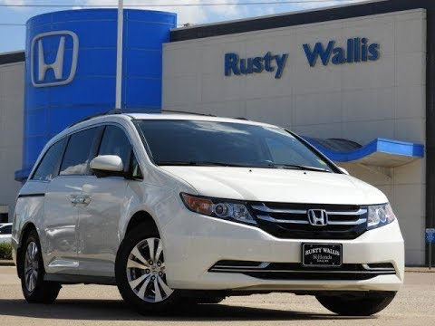 used cars 39 16 honda odyssey ex l at rusty wallis in dallas tx 75228 youtube. Black Bedroom Furniture Sets. Home Design Ideas