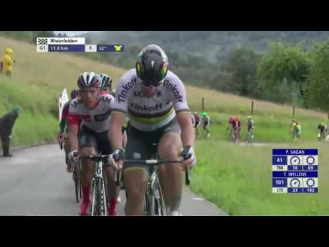 Tour de Suisse 2016 HD  Stage 3  Final Kilometers