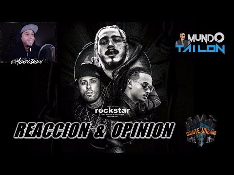 Rockstar - Post Malone ft Ozuna y Nicky Jam (Official Spanish Remix) - Reaccion - Opinion