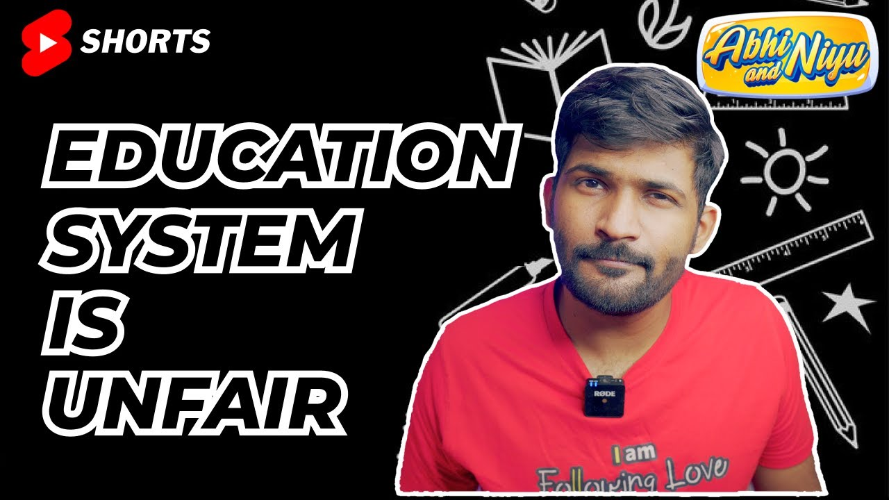 Indian education system is flawed because… #shorts