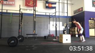 Granite Games WOD Number 4