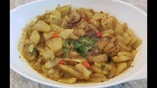 Halwa Puri Aloo Bhujia recipe 3/4 | Aloo ke Bhujya for Halwa Puri Recipe by Easy Cooking With Shazia