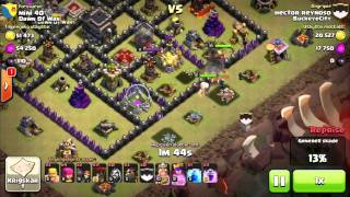 Clash Of Clans | HOW TO GOLAVALOON | STEP BY STEP | Th9 Vs Th9 | ClashWithHector