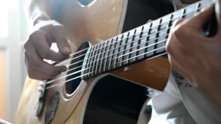 Kazakh boy - Titanic - Acoustic guitar