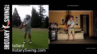 Increase Your Lag Just Like Rotary Swing Learning Group Member Frank Coyle