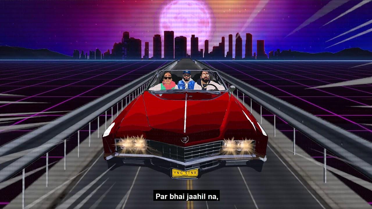 CALI 2 KARACHI   Talha Anjum   Talhah Yunus (Feat. J.Hind) Prod. By Jokhay (Official Lyrical Video)