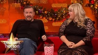 Rebel Wilson Raps For Ricky Gervais and Ben Stiller - The Graham Norton Show