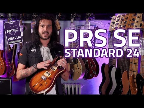 PRS SE Standard 24 Guitar review - Hard Working, Cheap PRS Guitar