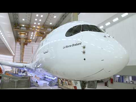 Air Mauritius A350 - The Making Of