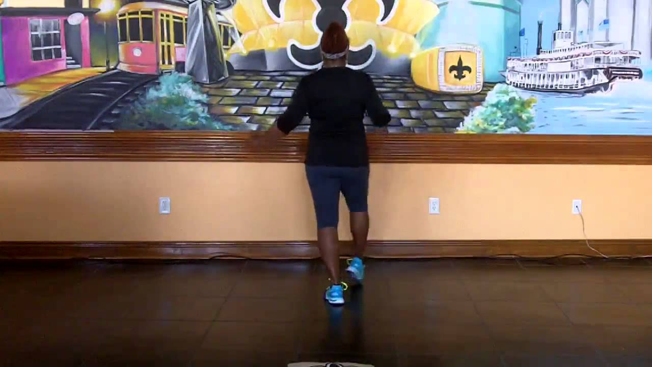 Backyard Party Line Dance Instructional