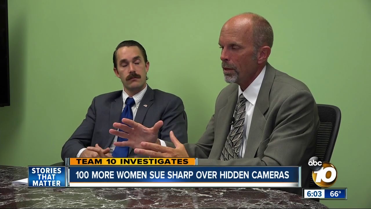 100 more women sue Sharp over hidden cameras