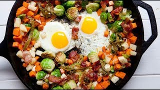 How To Cook ? Brussels Sprout and Bacon Hash Recipes