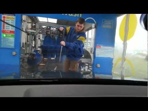 Myjnia samochodowa - przejazd