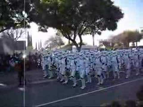 Tournament of Roses 2007 Star Wars Stormtroopers 501st