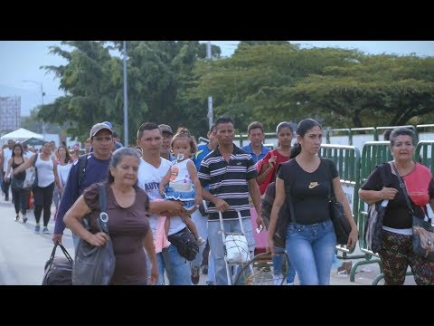 Venezuelans Find Shelter in Colombia