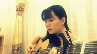 Giã Từ Vũ Khí (Trịnh Lâm Ngân) - guitar Uyên Nguyễn