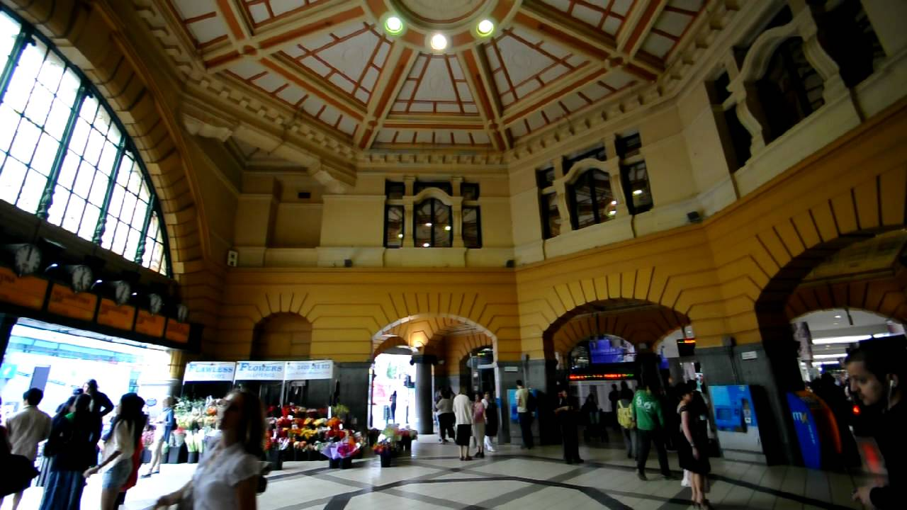 inside flinders street station youtube. Black Bedroom Furniture Sets. Home Design Ideas