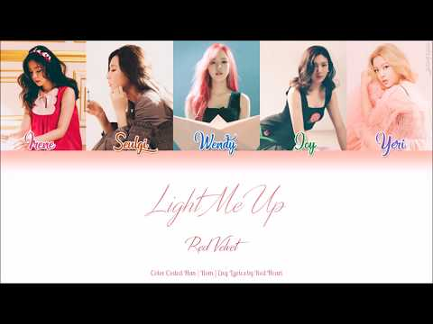 Red Velvet (레드벨벳) — Light Me Up (Han|Rom|Eng Color Coded Lyrics by Red Heart)