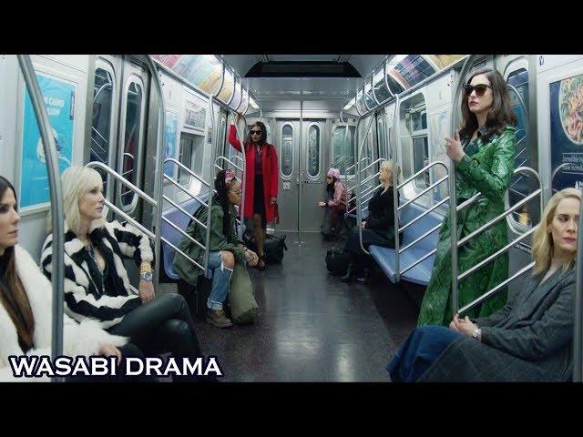 【哇薩比抓馬】年度最香艷電影,八個女神化身大盜搶奪一顆珠子,太養眼了《瞒天过海:美人计》Wasabi Drama