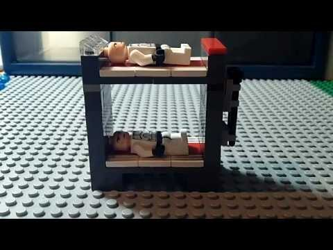 How To Make A Lego Star Wars Bunk Bed Tutorial Youtube