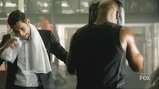 Lucifer 3x11 Luci Training Amenadiel as Boxer for the Fight Season 3 Episode 11 S03E11