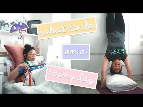 What to Do On A Rainy Day (BEAT RAINY SEASON!!!) | Janina Vela