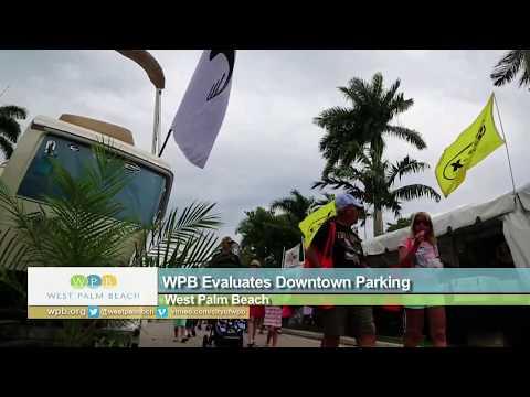West Palm Beach Evaluates Parking Downtown