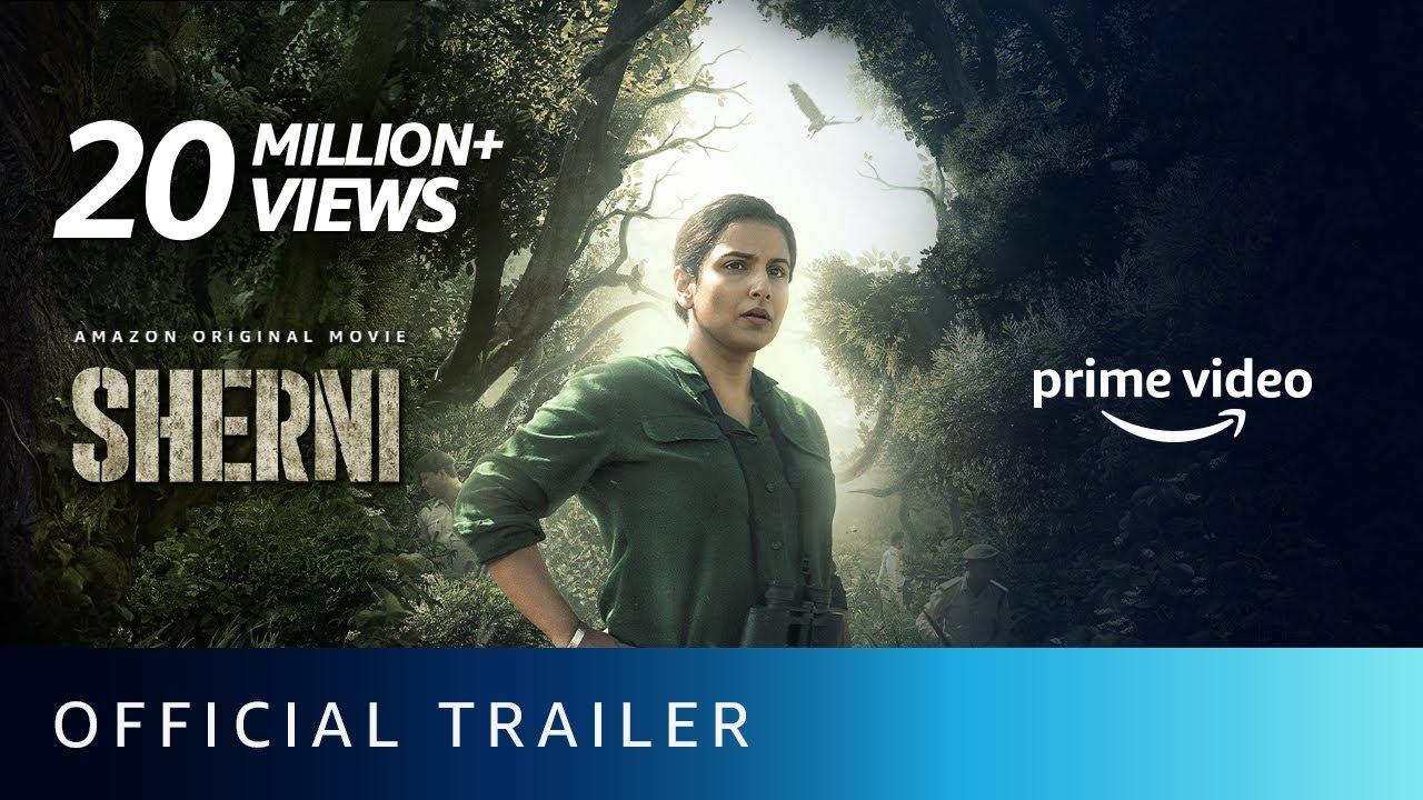 Download Sherni - Official Trailer | Vidya Balan, Vijay Raaz, Neeraj Kabi | Amazon Prime Video