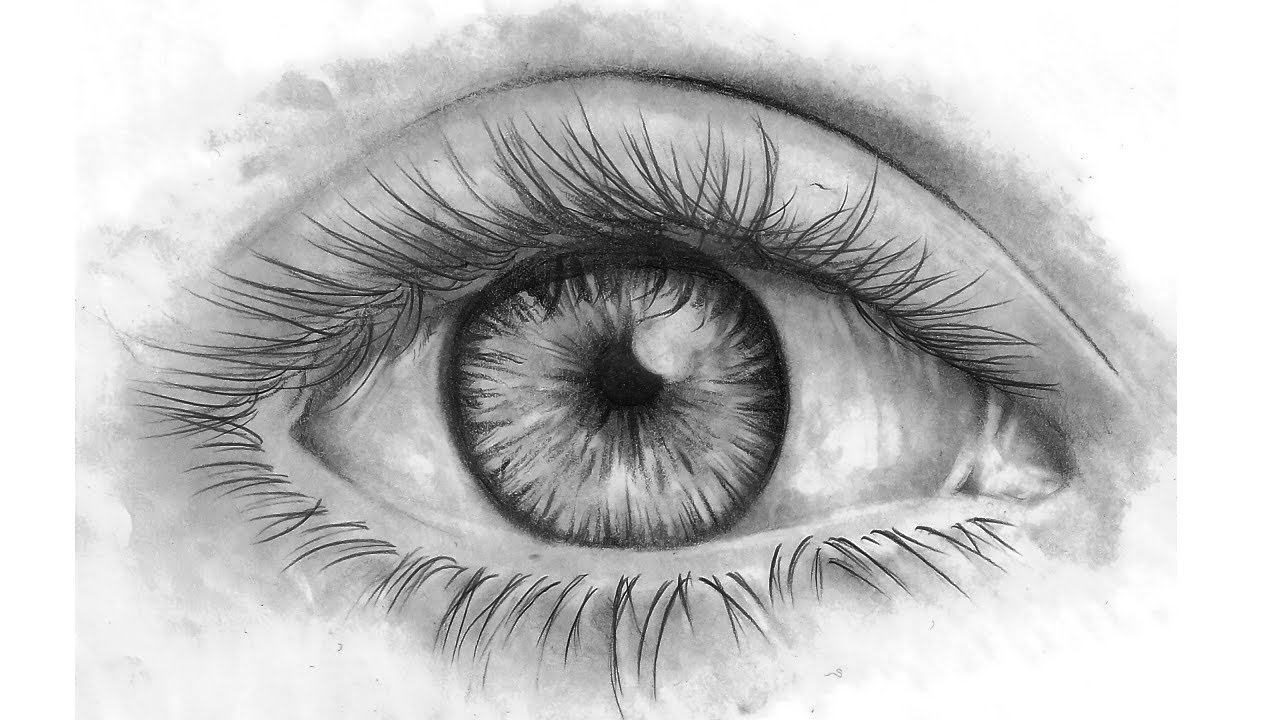 Assez How To Draw Eyes - Come Disegnare un occhio - YouTube LO54