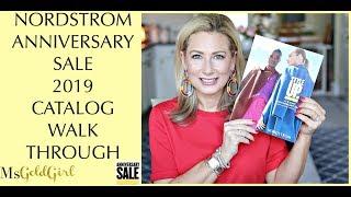Nordstrom Anniversary Sale 2019 Catalog Walk Through | MsGoldgirl