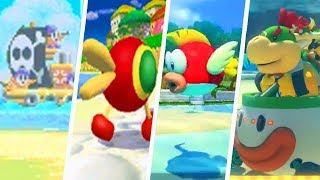 Evolution of Beach Courses in Mario Kart Games (1992 - 2018)