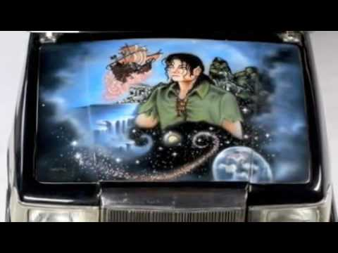 Michael Jackson Tribute Off The Wall Graffiti