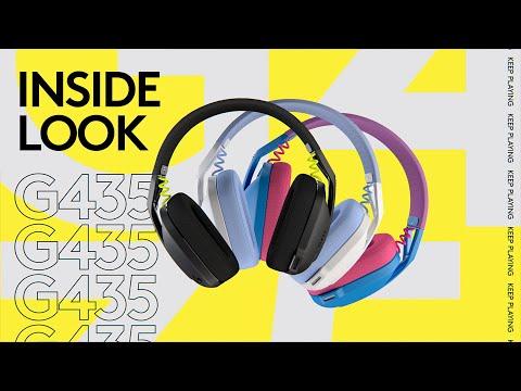 Inside Look: G435 LIGHTSPEED Wireless Gaming Headset