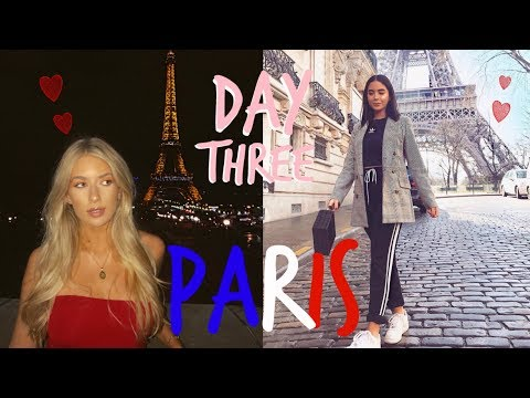 PARIS DAY THREE! | YSL SHENANIGANS + BEAUCOUP DE FOOD | Sophia and Cinzia
