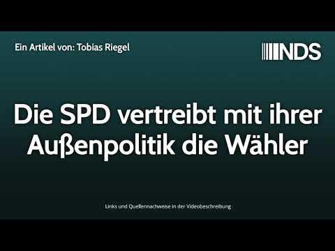 Die SPD vertreibt mit ihrer Außenpolitik die Wähler | Tobias Riegel | NachDenkSeiten-Podcast