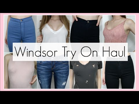 Windsor Try On Haul: Shirts, Jeans & More || BeautyChickee