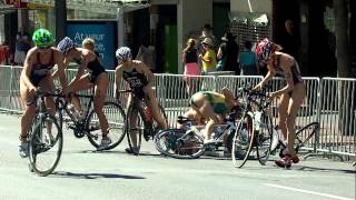 2014 ITU World Triathlon Auckland - Elite Women