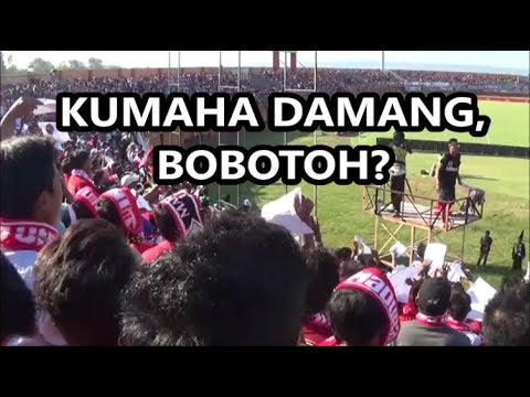 Full Respect! Chant K-CONK Untuk Bobotoh Saat Pertandingan Madura United Vs Persib Bandung