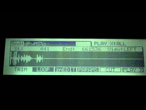 MPC 2000 Tutorial Series Pt. 2(Chopping Samples)