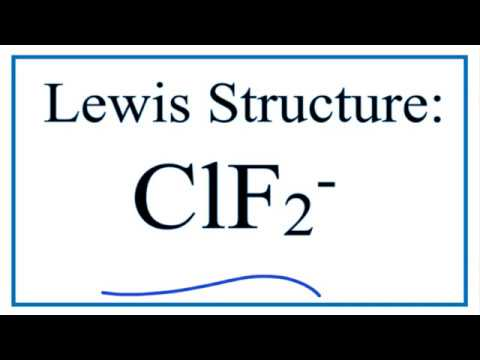 Clf2 Lewis Structure Youtube