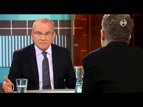 Páll Magnússon um uppsagnir og niðurskurð