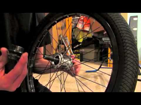 how to clean a bmx hub driver