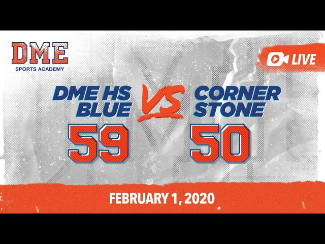 DME HS Blue vs Cornerstone