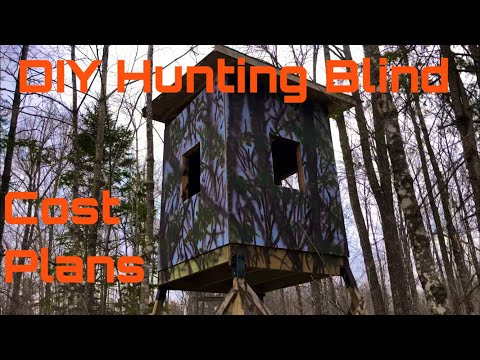 #122 DIY Hunting Blind/Cost/Plans