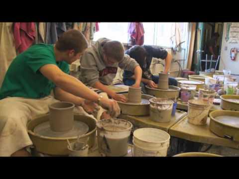 Memorial High School Ceramics: 3 Potters