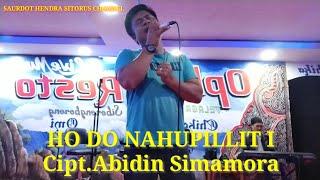 Cover HO DO NAHUPILLITI    Cipt.Abidin Simamora